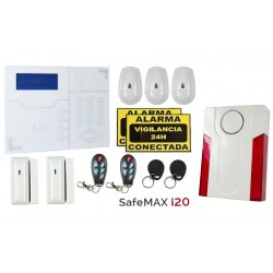 KIT ALARMA SEGURIDAD...